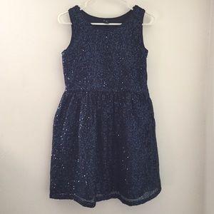 Gap Kids Sequins Party Holiday Dress XXL 14 16